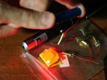 самодельный лазер