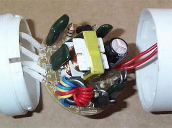 принципиальная схема светодиодной лампы